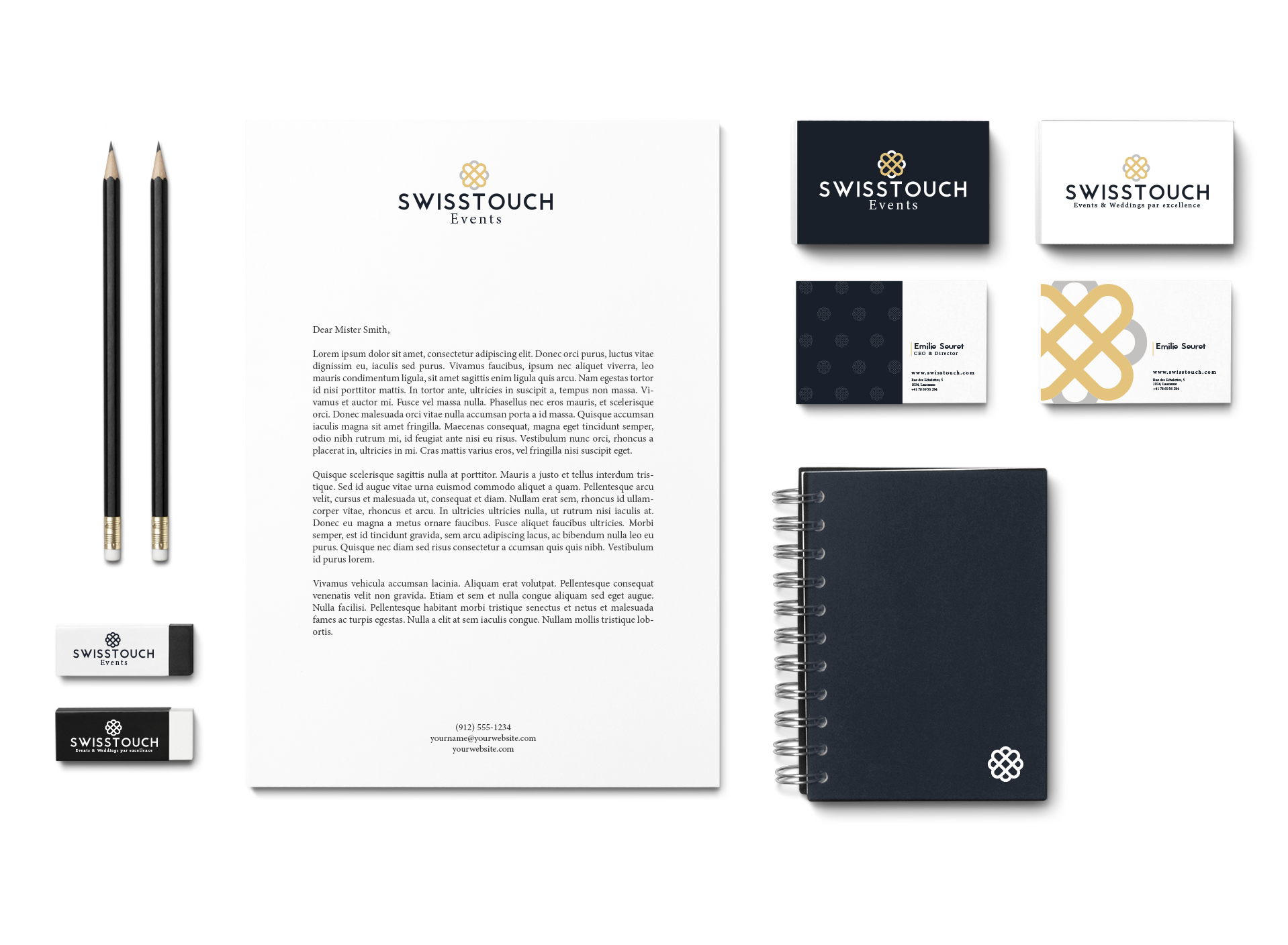 Swisstouch Branding Mock-Up